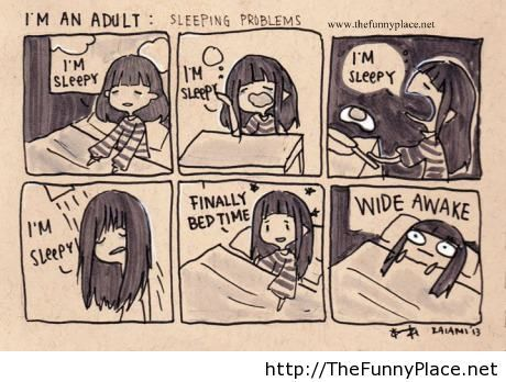 Adult sleeping problems