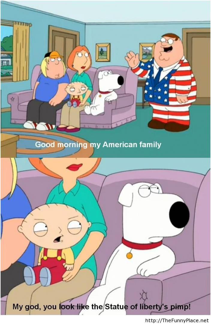 American joke