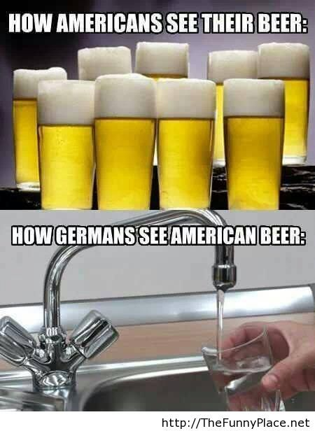 Americans vs germans