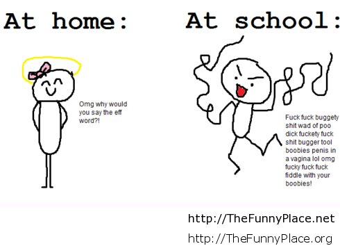 Difference-between-school-and-home