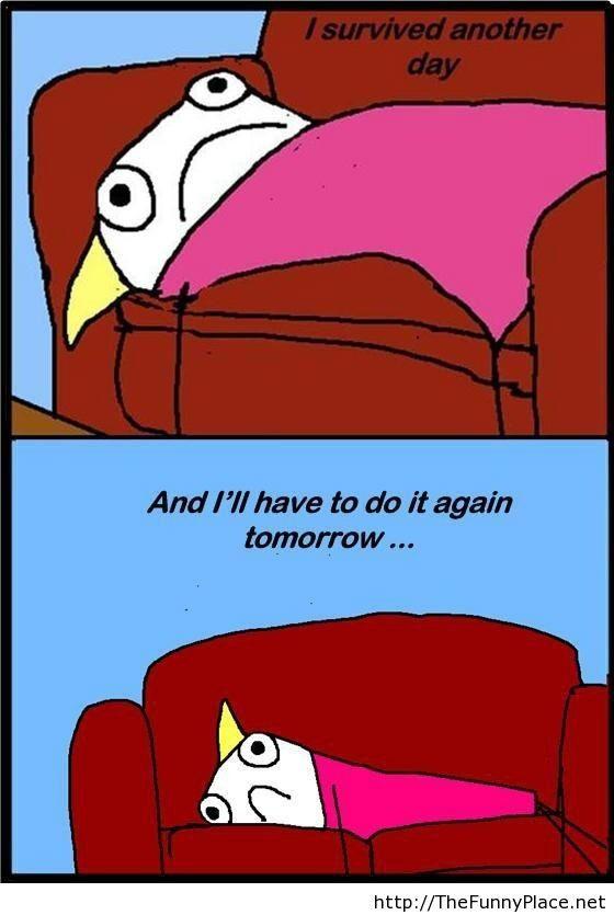 Everyday feeling comic