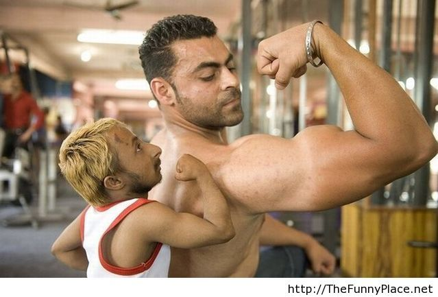 Funny Bodybuilding Picture
