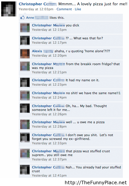 Funny facebook fail comments