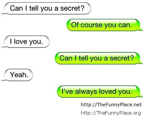 Funny love conversation