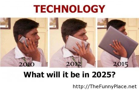 Funny technology in 2025