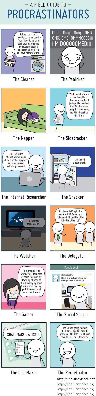 Guide to procrastinators