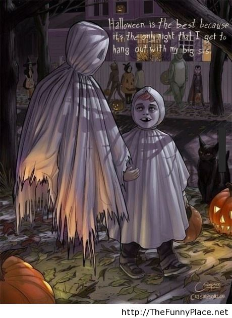 Halloween is the best part of the year
