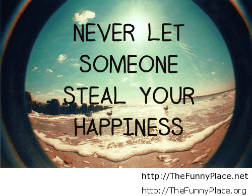 Happiness motivational quote