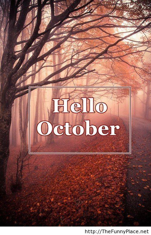 Hello october 2013