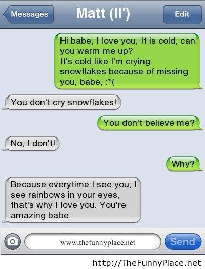 I love you conversation