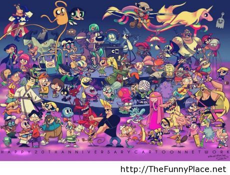 I miss cartoons