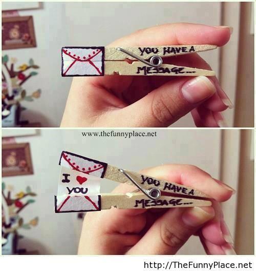 かわいい面白い愛のメッセージ