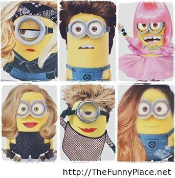 Minions are funny