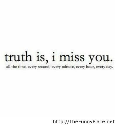 Miss you quote
