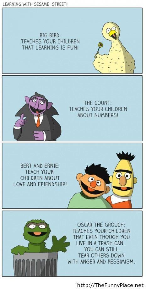Sesame street s life lessons
