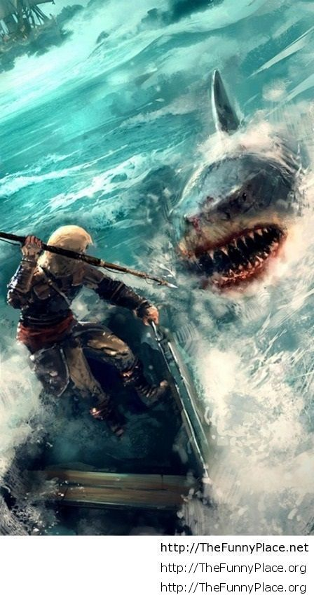 Shark awesome wallpaper