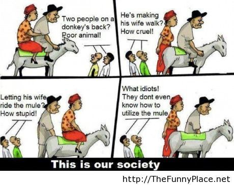 Society these days