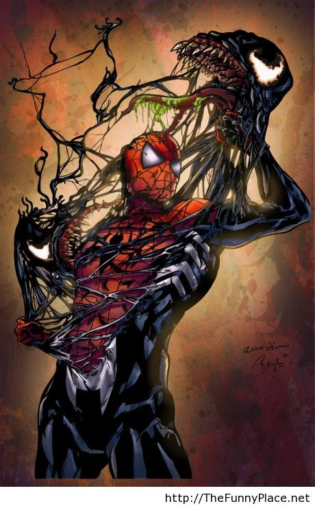 Spiderman paint is awesome