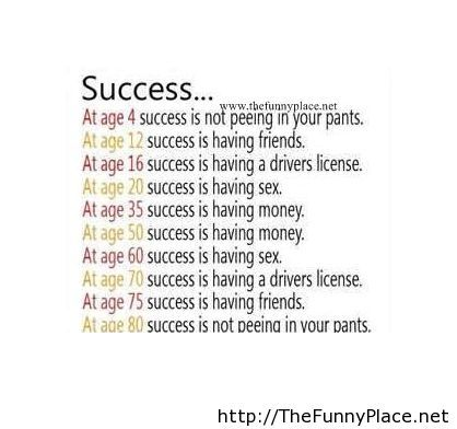 Success funny sayings