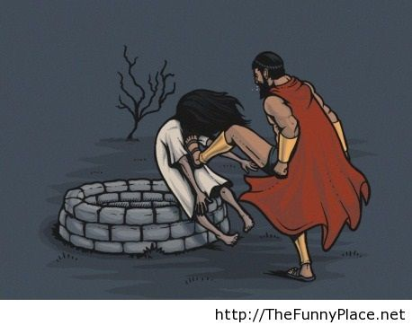 This is Sparta funny comic