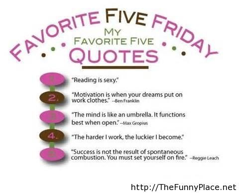 Tomorrow friday quotes