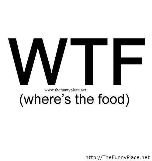 WTF saying