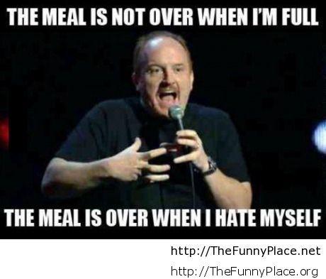 When I hate myself