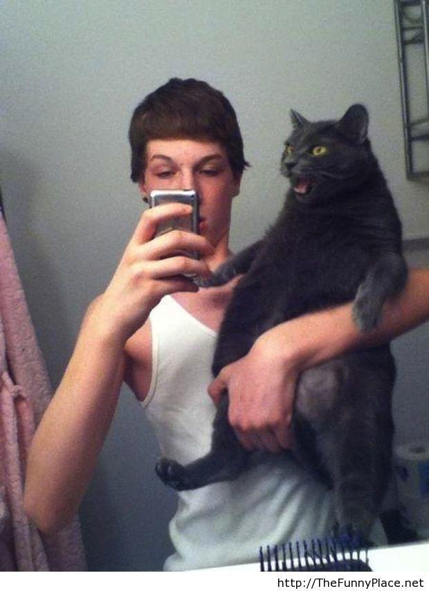 Worst selfie is funny