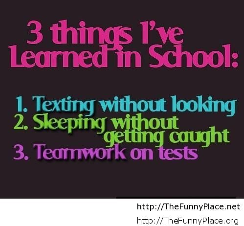 funny-things-I-learned-in-school-quote