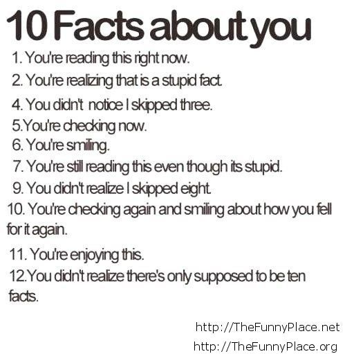 10 facts 2013 funny