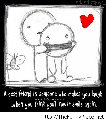 A best friend is
