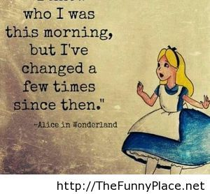 Quotes From Alice In Wonderland Custom Quotes Alice Wonderland  Thefunnyplace