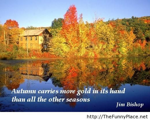 Awesome Autumn Wallpaper With Sayings And Quotes