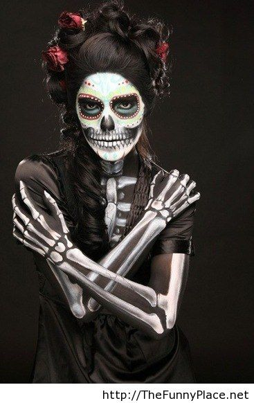 Awesome halloween girl costume