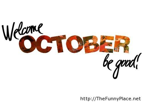 Be good October