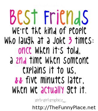 Best friends funny saying