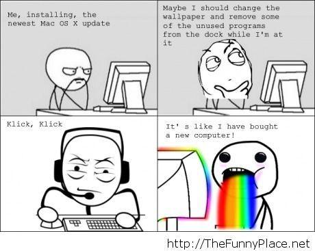 Changing the desktop design meme