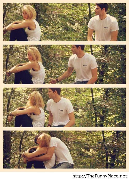 Cute love moment