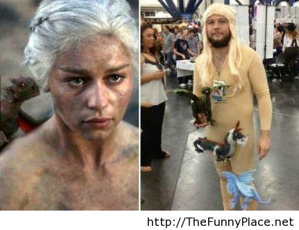 Daenerys male cosplay