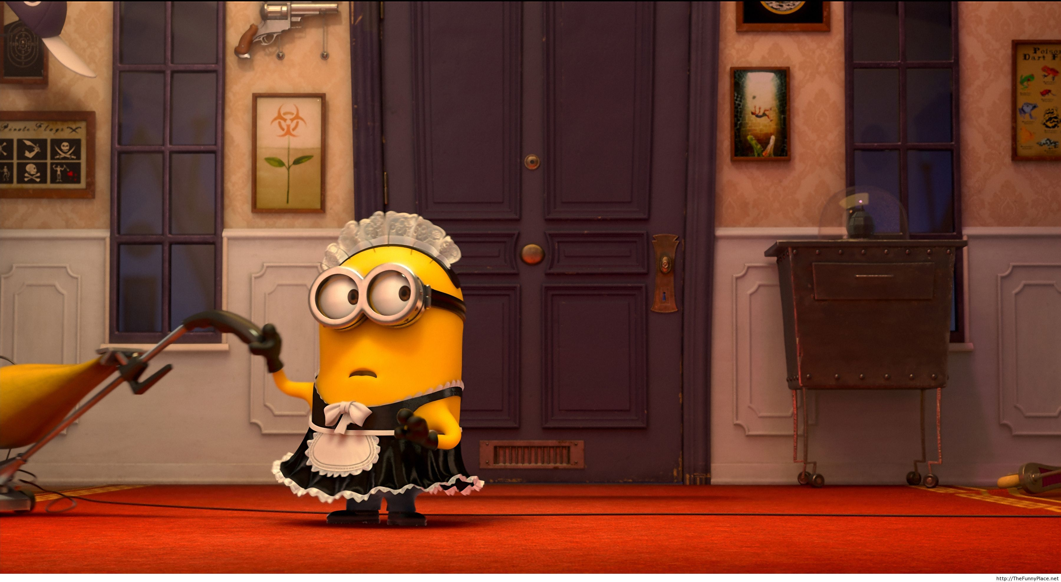 Despicable 2 funny wallpaper with minions