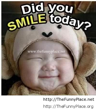 Did you smile today