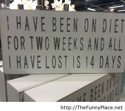 Diet funny saying