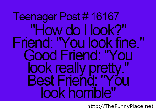 Differences between friend, good friend and best friend!