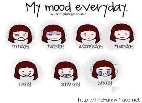 Everyday mood comics