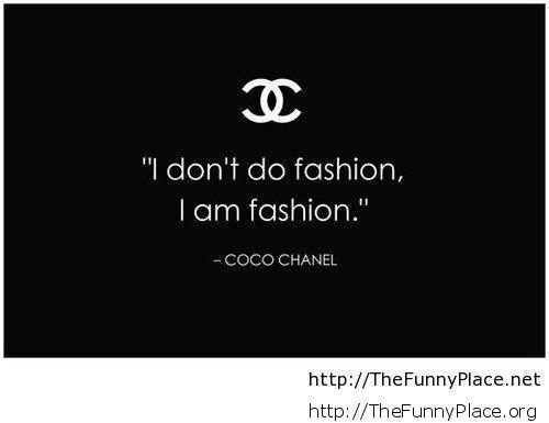 Fashion funny quote