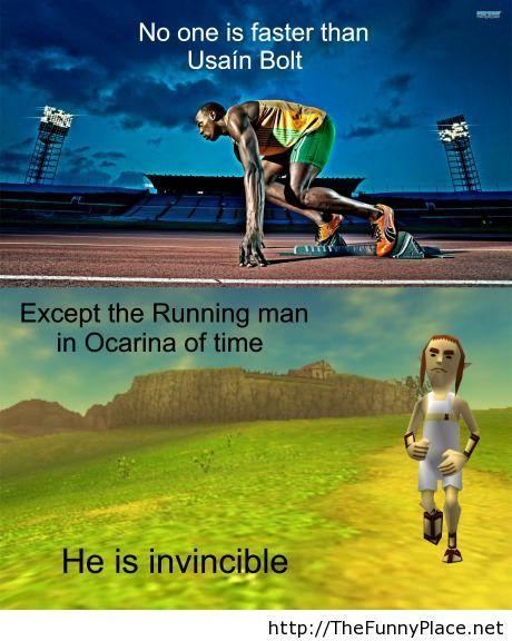 Faster than Usain Bolt