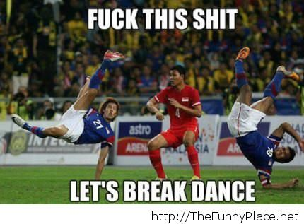 Football funny picture