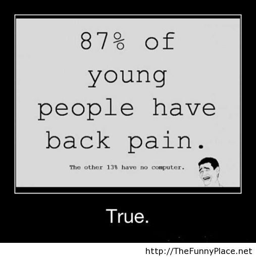 Funny black pain