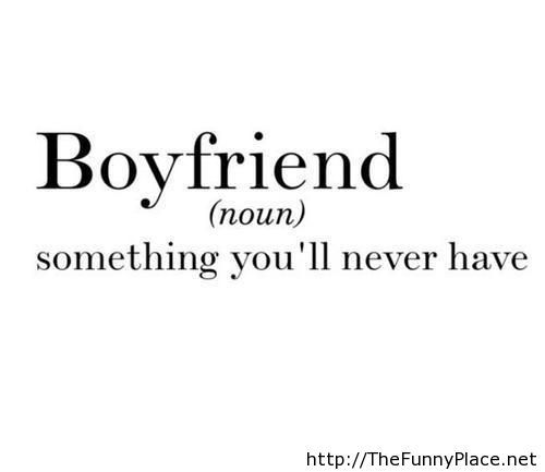 Funny boyfriend definition