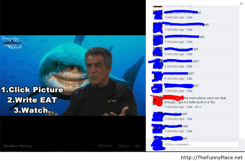 Funny faceboook people in comments